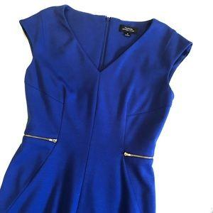 Tahari zip waist dress